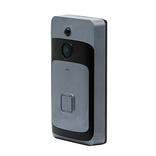 Draadloze Smart Video Deurbel Extra Lange Standby Twee-weg Voice Intercom HD Infrarood Nachtzicht WIFI Aansluiting 166 ° Breedhoeklens