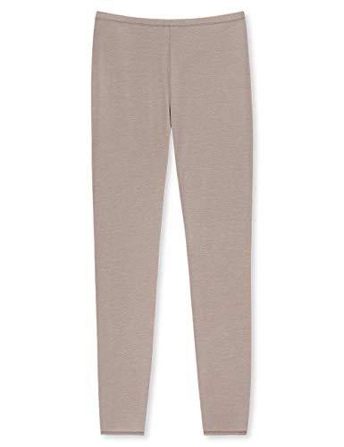 Schiesser Damen Personal Fit Leggings Panties, Braun (Braun 300), 38 (Herstellergröße: M)