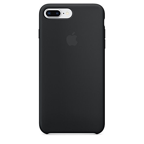 Brandtrendy Funda de Silicon para iPhone 8 Plus / 7 Plus (Negro)