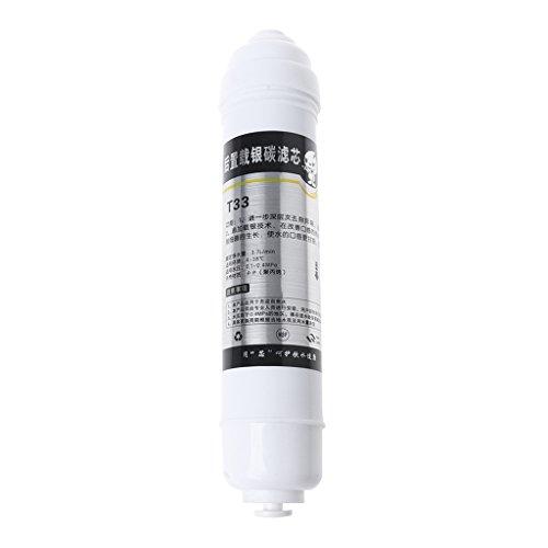 Folewr Reemplazo del filtro de agua del cartucho de membrana de ultrafitración de carbono T33