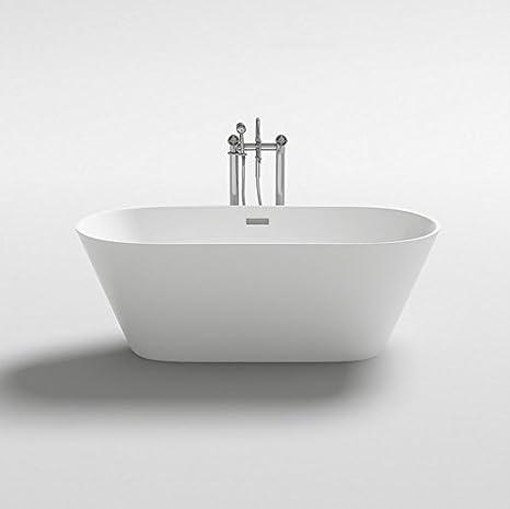 Bagno Italia Da Bagno 170x80x58h 160x80x58h 150x75x58h Freestanding Bianca Design Moderno Centro Stanza I Amazon It Fai Da Te