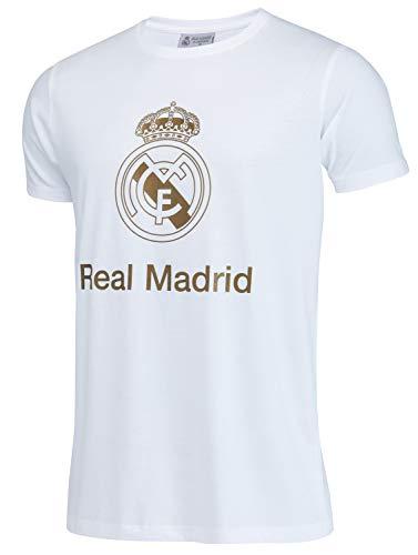 Real Madrid Camiseta de algodón Colección Oficial - Niño - 8 años