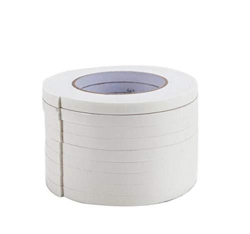 STK ショックノンテープ スポンジロール スポンジテープ 車 両面テープ 厚手 超強力 衝撃吸収 防音絶縁 衝突防止 (2.4cm*3m, 1巻セット)