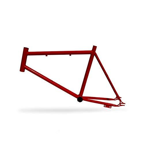 Riscko 001s Cuadro Bicicleta Personalizada Fixie Talla S Rojo