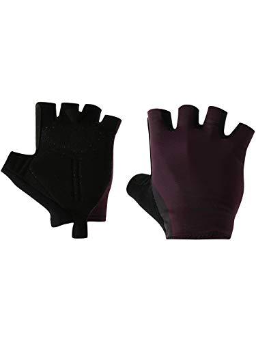Santini Bordeaux 2019 Soffio Summer Fingerlose Radsport Handschuhe (Large, Rot)