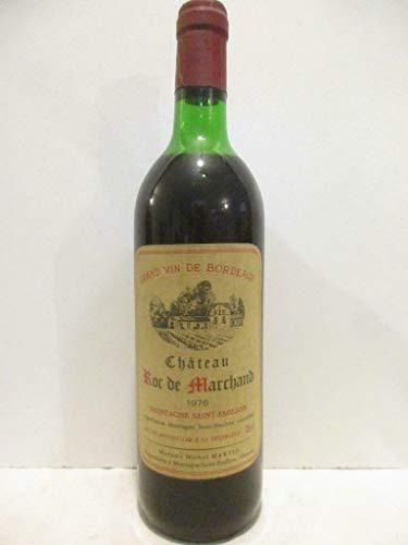 montagne saint-émilion château roc de marchand Rouge 1976 - bordeaux