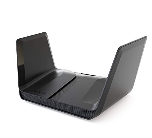 NETGEAR Router WiFi 6 Nighthawk AX8 RAX80, 8 flussi WiFi con velocità AX6000 (fino a 6 Gbps), copertura fino a 230 m2