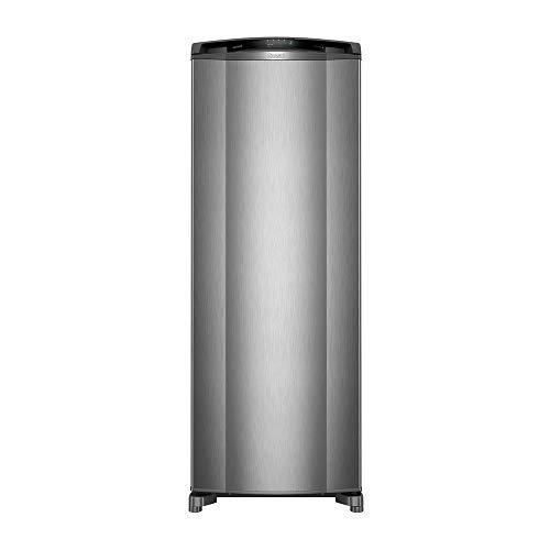 Geladeira Consul Frost Free 342 litros cor Inox com Gavetão Hortifruti 110V