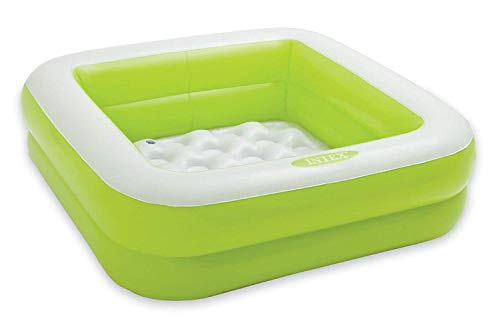 Intex 57100EP 57100NP Baby Pool Spielbox 85 x 85 x 23 cm (grün)