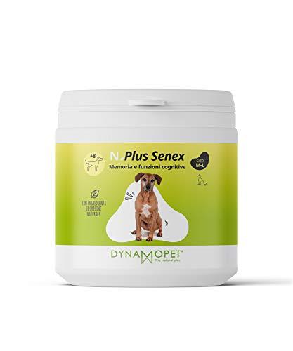 DYNAMOPET Natural Plus Senex Suplemento para Perros Mayores 200gr, Apoyo a la Memoria y Funciones Cognitivas de Perros Mayores, Suplementos energéticos, Fuente de Vitaminas para Animales