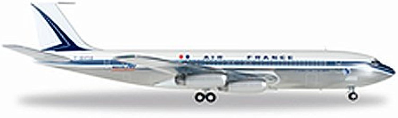 edición limitada Herpa Herpa Herpa 557245 001 Air France Boeing 707 320Chateau De Chambord  ¡No dudes! ¡Compra ahora!
