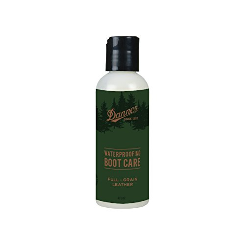 Danner Waterproofing Gel 4 fluid ounces   Leather Cleaner & Conditioner  Shoe Care for Leather Boots, Shoes, Bags, Seats, Leather Sofa   For Use on Full-grain Leather Only   Made in USA