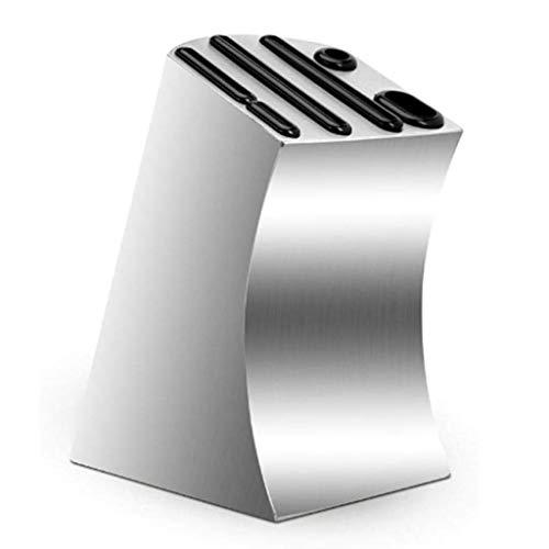 SCDGYG Cuchillo de Acero Inoxidable Titular - Suministros de Cocina Cuchillo de Cocina Rack multifunción
