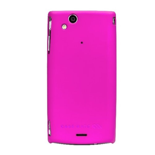 Barely There Cover per Sony Xperia Arc - Pink (Rubber)