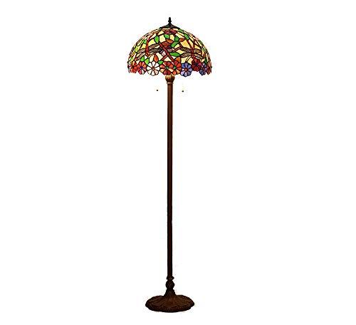 XinQing Lámpara de pie de Color, lámpara Decorativa libélula Creativa de la Sala de Estar del Dormitorio