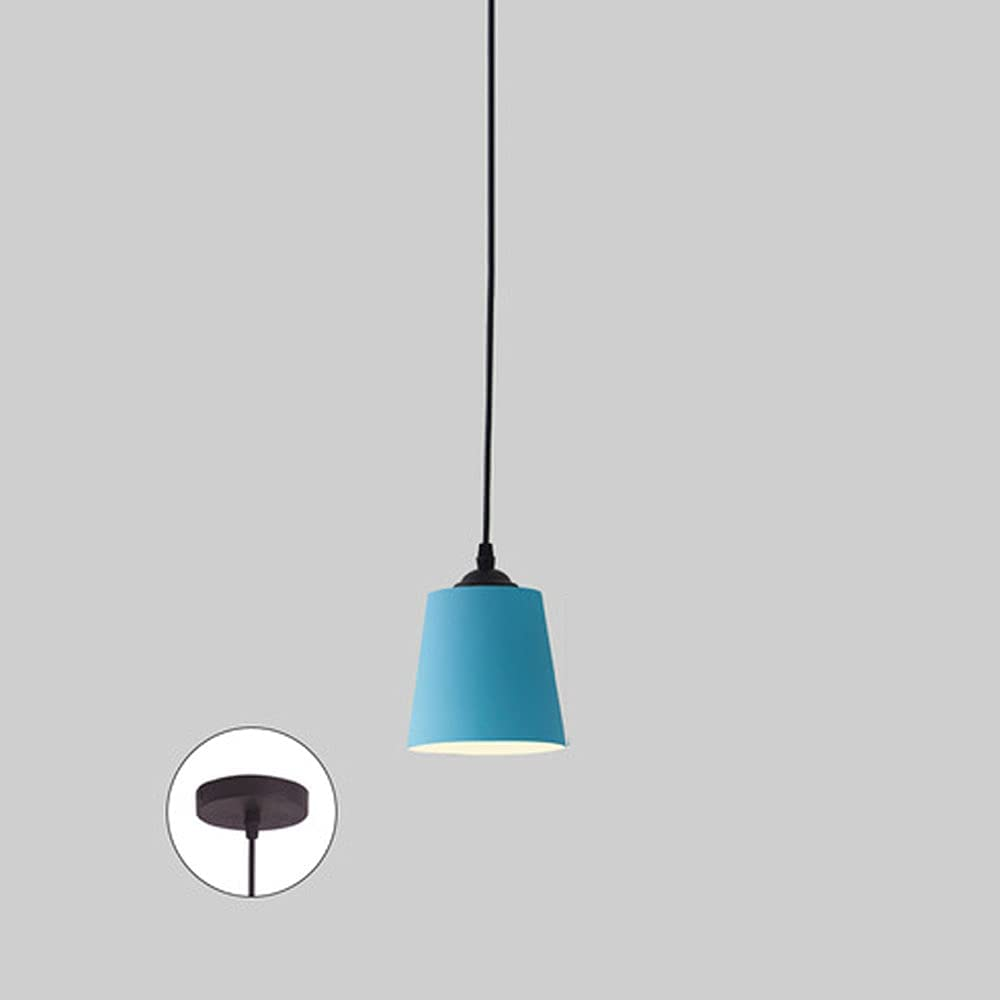 NAMFHZW Colored Metal Mini 5 ☆ popular Ceiling Light Now on sale Hanging Iron Finish Sha