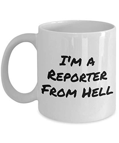 N\A Sono Un Reporter dall'inferno Tazze e tazzine da caffè Divertenti