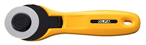 Olfa Rotary Cutter: 45mm: Yellow