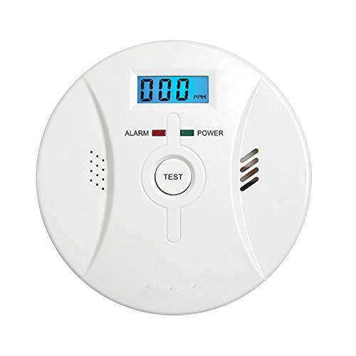 Kohlenmonoxid Co Melder Rauch Warnmelder Mit LCD-Display Sprachbenachrichtigung Feuersignal Detektor Für Haus Feuer Gas Leaks