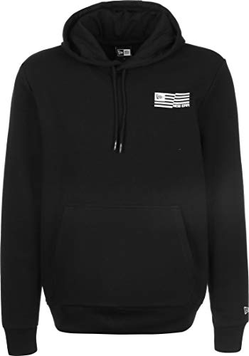 New Era, Ne cont graphic print po hoody, Blk - XS