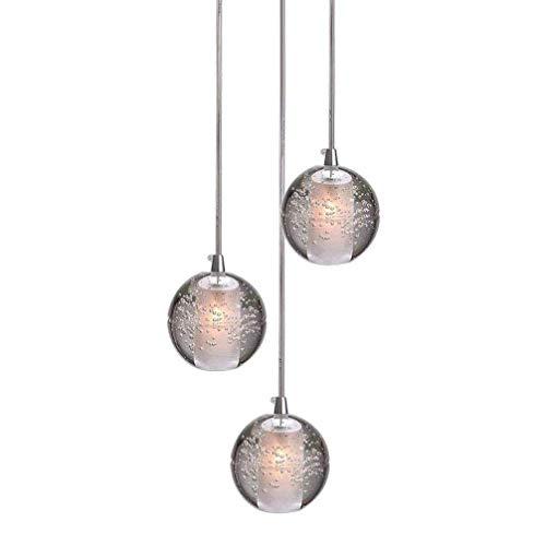 LED hanglamp rond Crystal Bullet hanglamp kroonluchter, moderne romantische decoratie hanglamp, stijlvolle eetkamerlamp hanglamp voor eettafel koffie winkel keuken, G4 gloeilampen