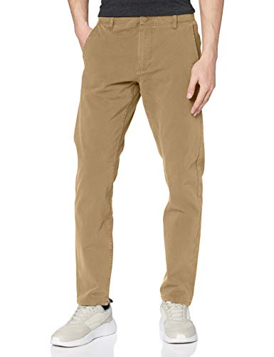 Dockers Smart 360 Flex Alpha Slim Pantalones, Marrón (New British Khaki 0000), 38W / 34L para Hombre