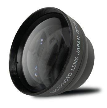 58mm 2.2X Telephoto Conversion Lens for Canon EOS Rebel T6s, T6i, SL1, T5, T5i, T4i, T3, T3i, T1i, T2i, XSI, XS, XTI, XT, 70D, 60D, 60Da, 50D, 40D, 30D, 20D, 10D, 7D Digital SLR DSLR Cameras