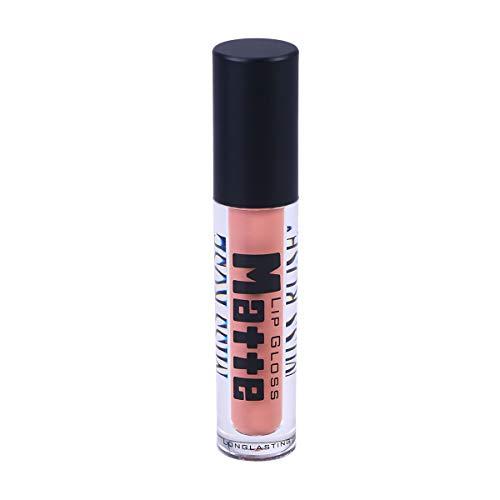 Frcolor Sexy Anti-adhésif Coupe lèvres Rouge à lèvres imperméable à l'eau Liquide Longue durée Mat Liquide (6)