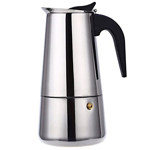 LieblingsAdi 2/4/6/9 tazas cafetera olla acero inoxidable Mocha Espresso Latte estufa filtro Moka cafetera cafetera para cocina