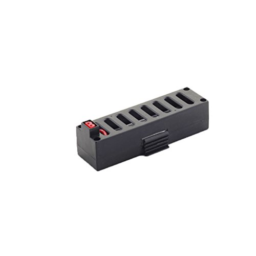 STOBOK 3.7V 500mAh Lipo Battery Spare Part Provide Power Accessories Parts for JY018 RC Quadcopter Drone