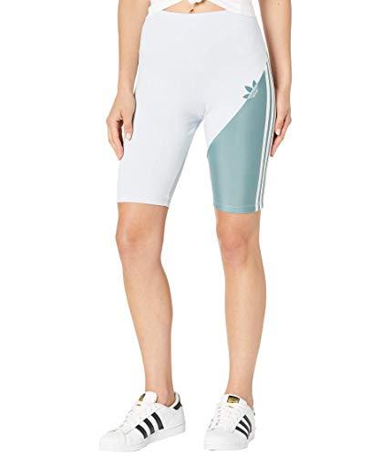 adidas Sliced Trefoil Short Tights Halo Blue/Hazy Emerald MD