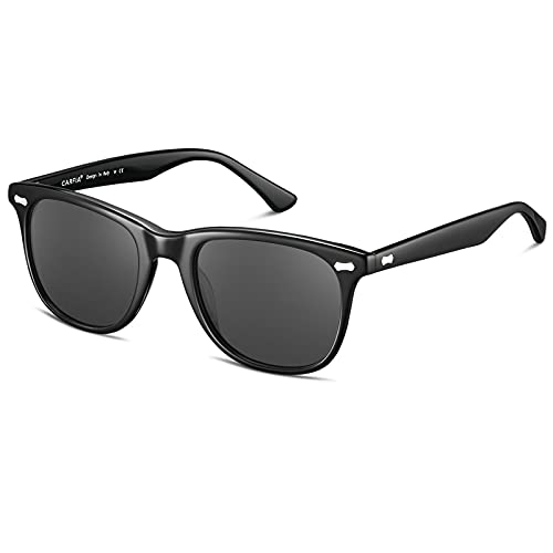 Carfia Polarized Men's Sunglasses UV400 Protection for Driving Fishing Hiking Golf Outdoor Sport Glasses