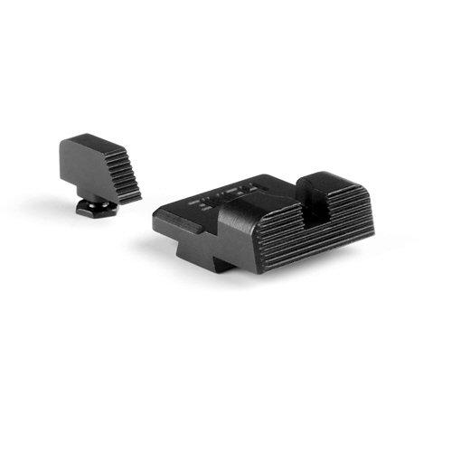 Heinie #3155L Ledge Tactical Black Sight Set for Glock