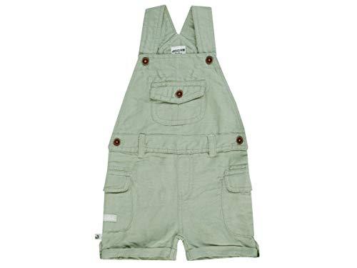 Jacky Kurze Latzhose für Jungen, Größe: 92, Alter: ab 2 Monate, Adventure Boy, Grün, 3719230