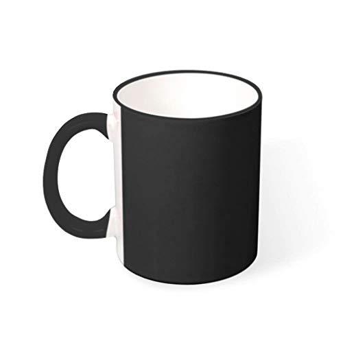 Taza de café de cerámica lisa humor de 330 ml, para niñas y mujeres, diseño de plan de Pensionsplan