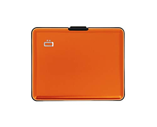 Ögon Design Big Stockholm Aluminium Card Holder Orange