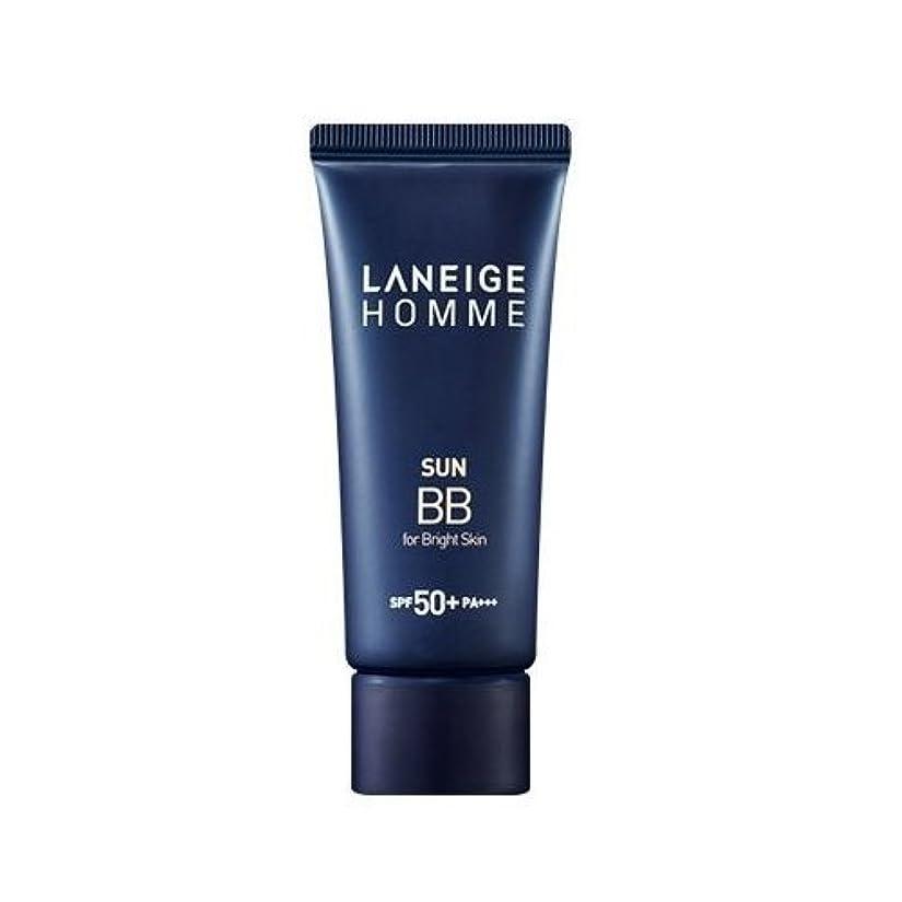 心理的アート一人でLaneige Homme Sun BB Cream (SPF40/PA++) - #Bright skin