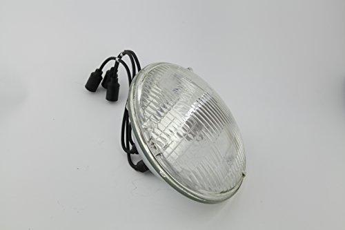 Single US Military HUMVEE Headlight M998 Hummer H1 HMMWV M151 Fits JEEP head light 6240-00-966-3831 P/N 8741491