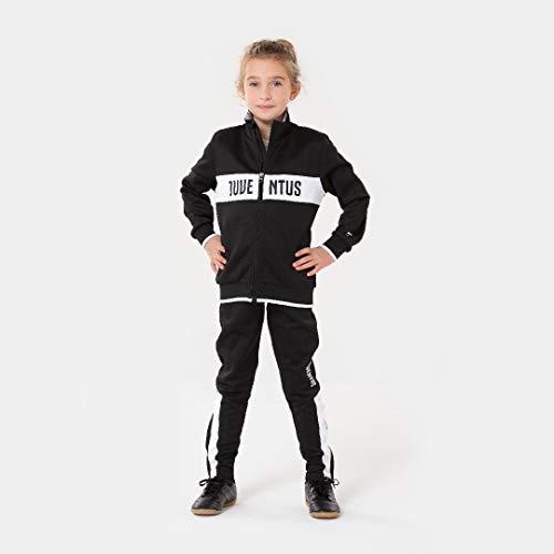 JUVENTUS Morefootballs - Offizieller Turin Trainingsanzug für Kinder - 2020/2021-116 - Langarm Trainingsjacke und Jogginghose - Jacke und Hose für Fussball Training