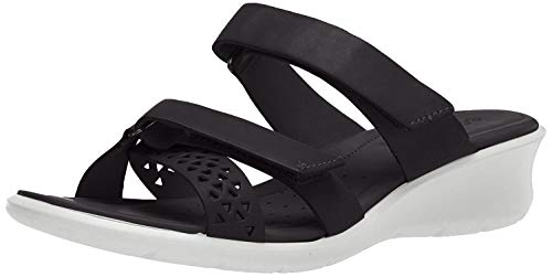 ECCO Damen FELICIASANDAL Pantoffeln, Schwarz (Black 1001), 40 EU