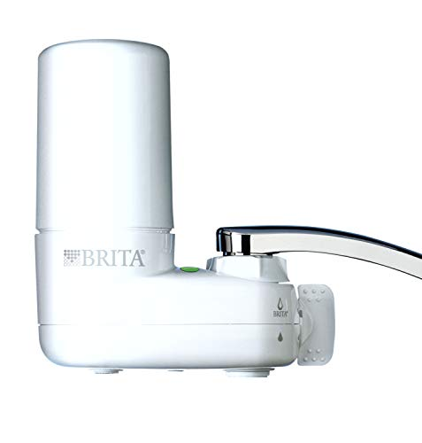 Brita Basic Faucet Water Filter System, White, 1 Count - 35214