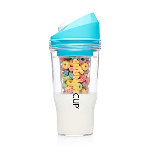 The CrunchCup XL - A Portable Cereal Cup - No Spoon. No Bowl. It