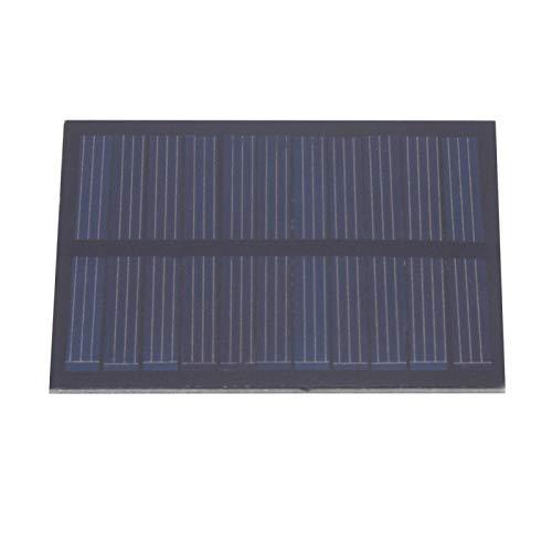 SALUTUYA Panel Solar Ligero de 0,5 W y 5,5 V, portátil para Todos los pequeños electrodomésticos para semáforos, Ventiladores eléctricos