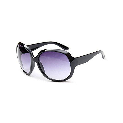 Ardisle grande, occhiali da sole da donna designer Big Frame retro vintage Fashion Black