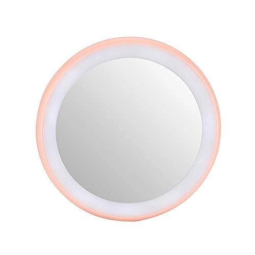 Weixinbuy 12 Led Lights Makeup Mirror Polymer Glass Mirror Adjustable Chargeable Cosmetic Mirror, Great Choice and Gift for Girls.