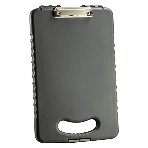 Officemate OIC Letter/A4 Size Tablet Clipboard Case, Charcoal (83314)