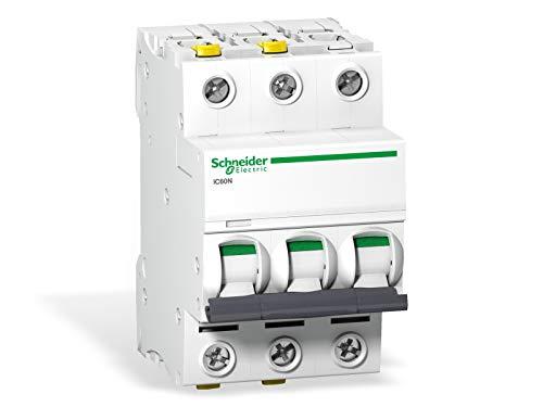 Schneider A9F04316 Leitungsschutzschalter iC60N, 3P, 16A, C Charakteristik