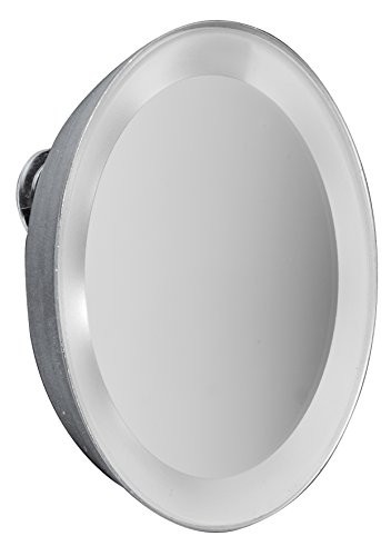 Macom 225 Moonlight Mini miroir grossissant x 7, Argent