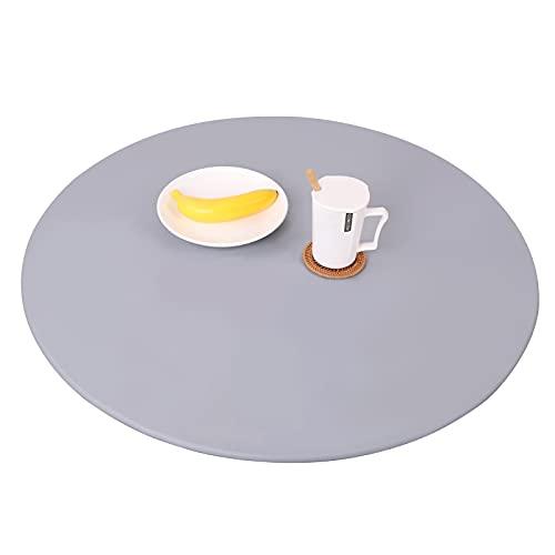 Robasiom protector mesa redonda Mantel redondo comedor mesa camilla , impermeable, elástico,...