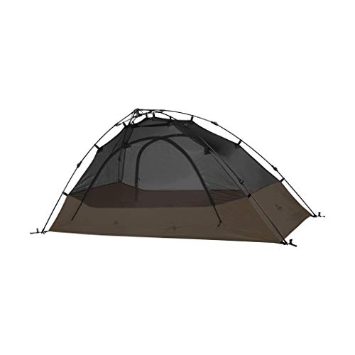 TETON Sports Vista 2 Quick Tent; 2 Person Dome Camping Tent; Easy Instant Setup, Brown, 82' x 60' x...